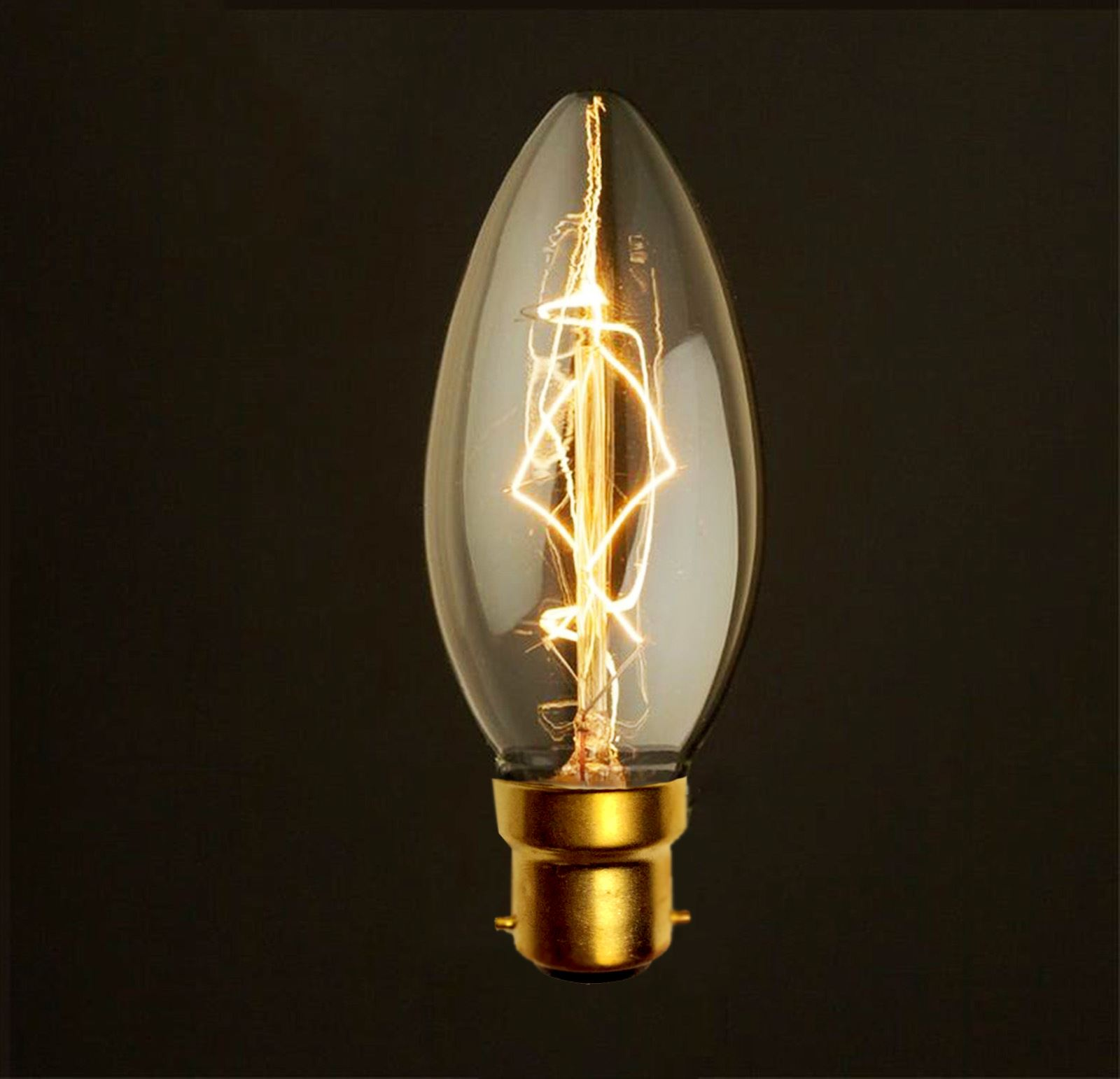 Industrial Looking Light Bulbs Vintage Squirrel Cage Industrial Filament Antique Style