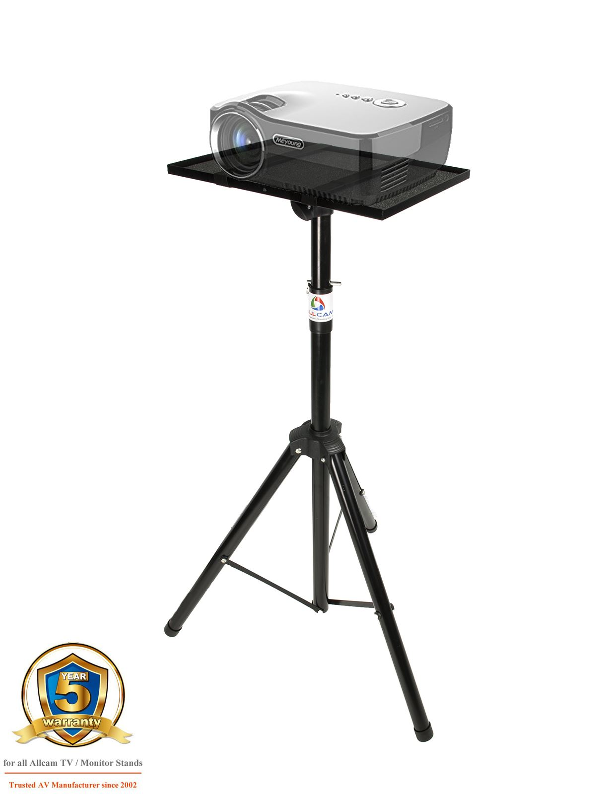 Eurobox Nextgen Portable 43 32 Allcam Portable Projector Stand Tripod Laptop Table