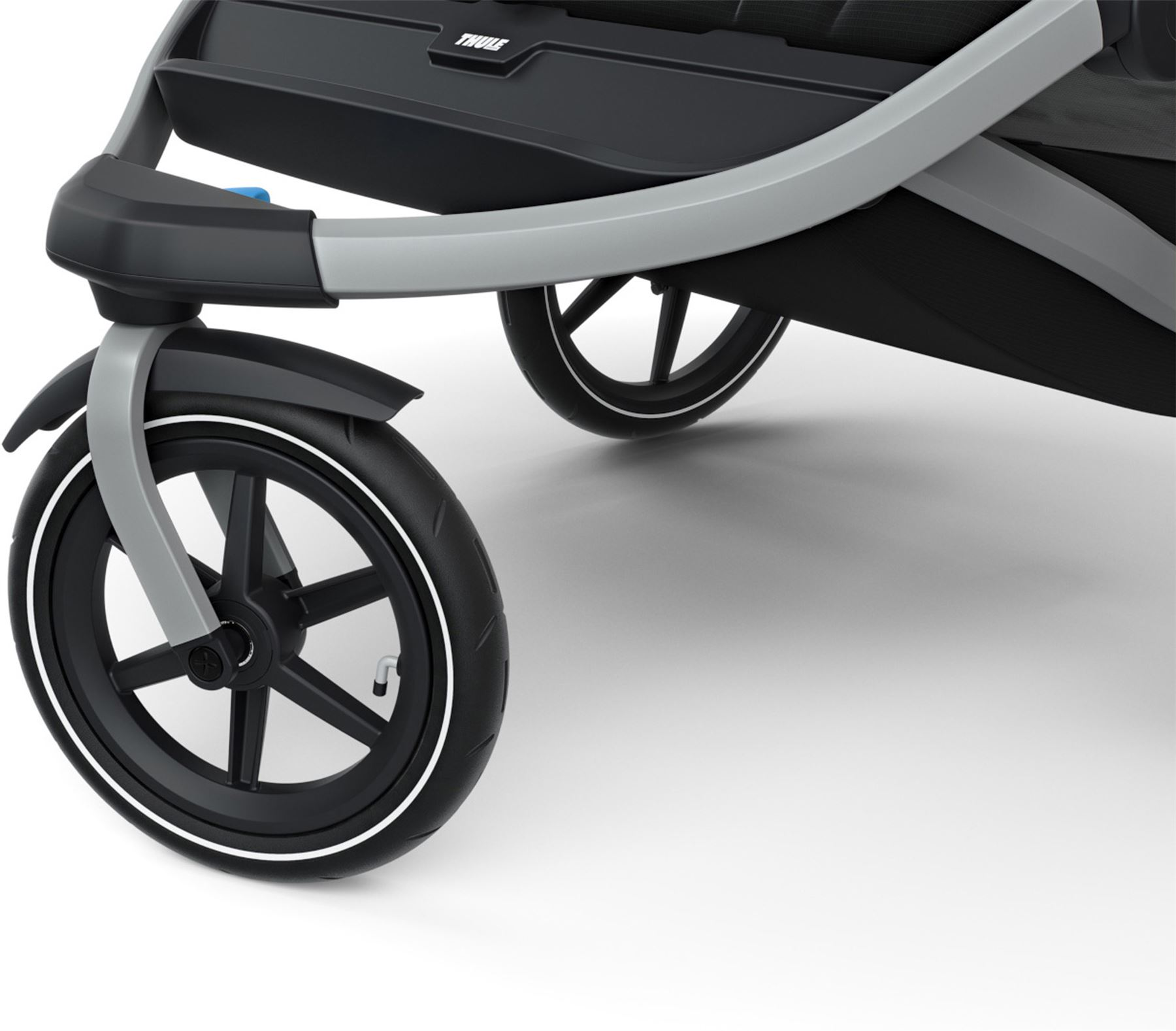 Baby Buggy Mercedes Details About Thule Urban Glide 2 Double Stroller Jet Black Pushchair Buggy Bn