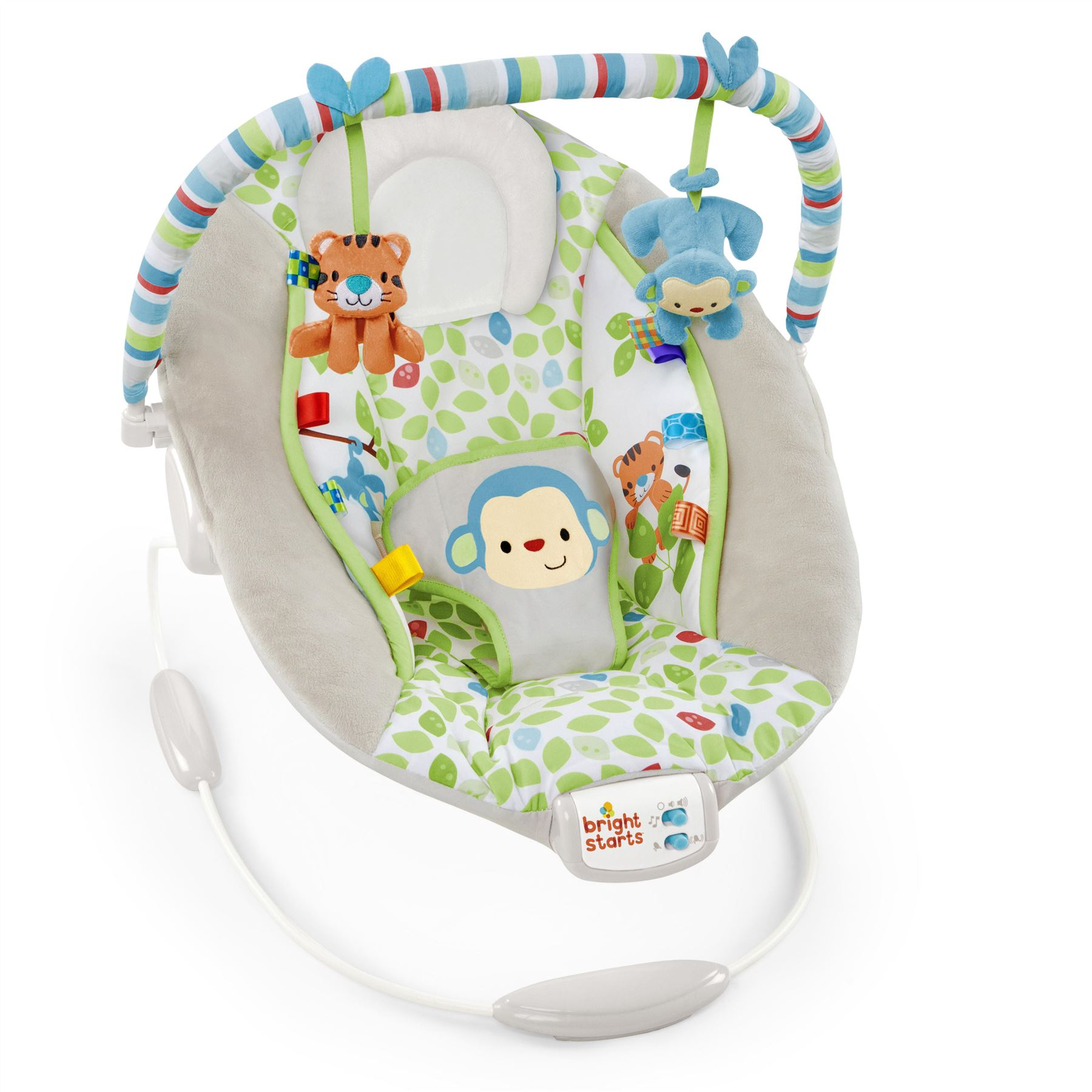 Bouncer Baby Details About Comfort Harmony Monkey Bouncer Baby Toddler Taggies Melody Rocker