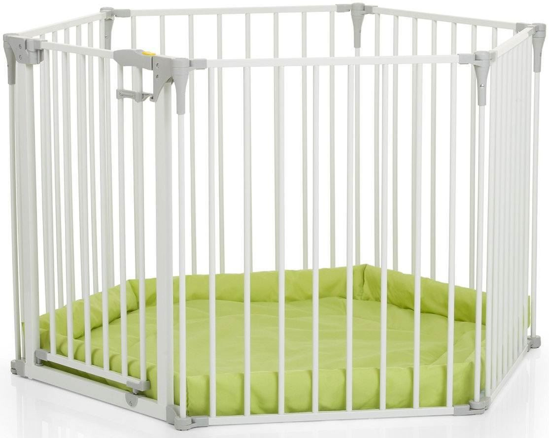 Baby Gitter Details About Hauck Baby Park Playpen Safety Fireplace Lock Barrier Playmat New