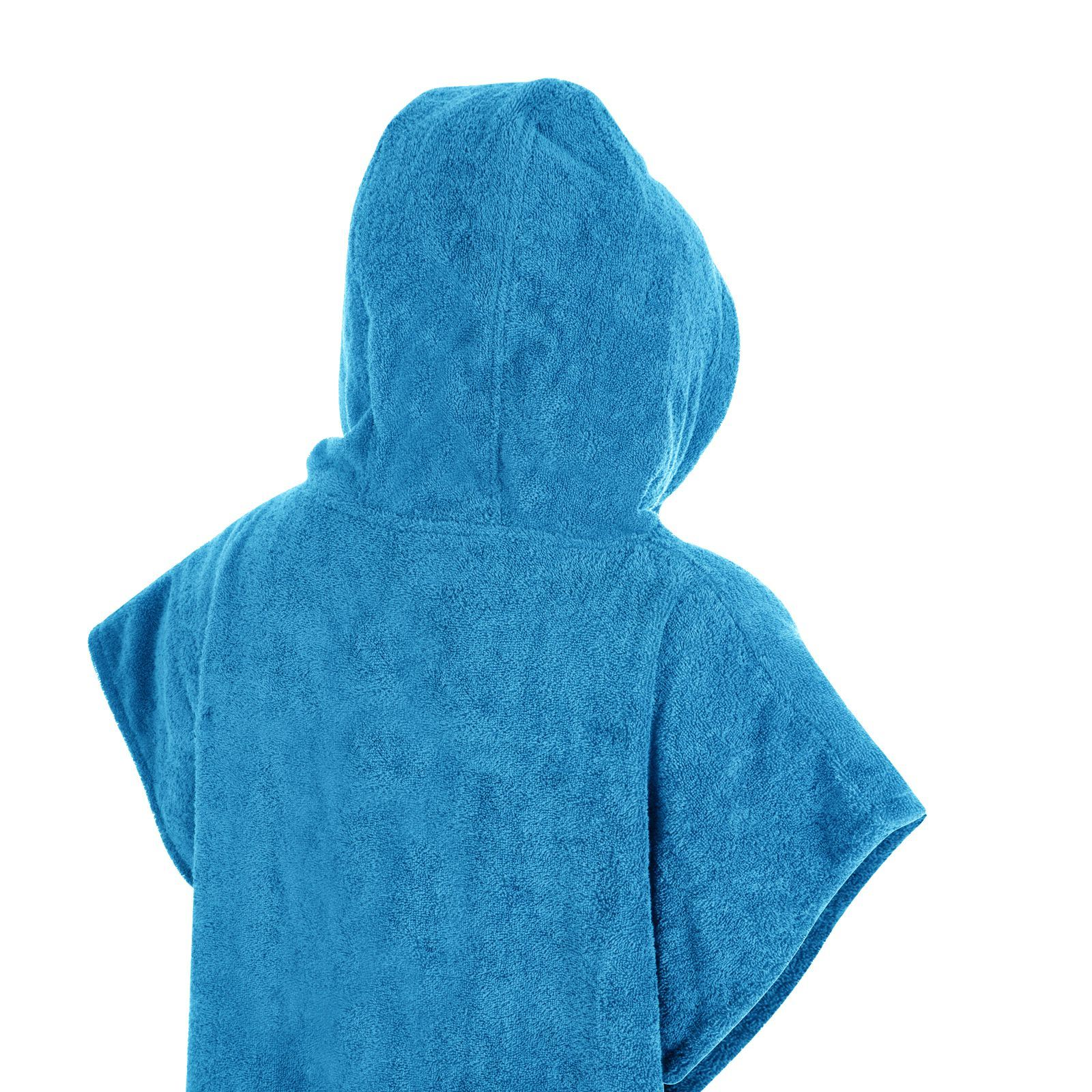 Handtuch Poncho Unisex Hooded 100% Cotton Changing Robe Beach Terry