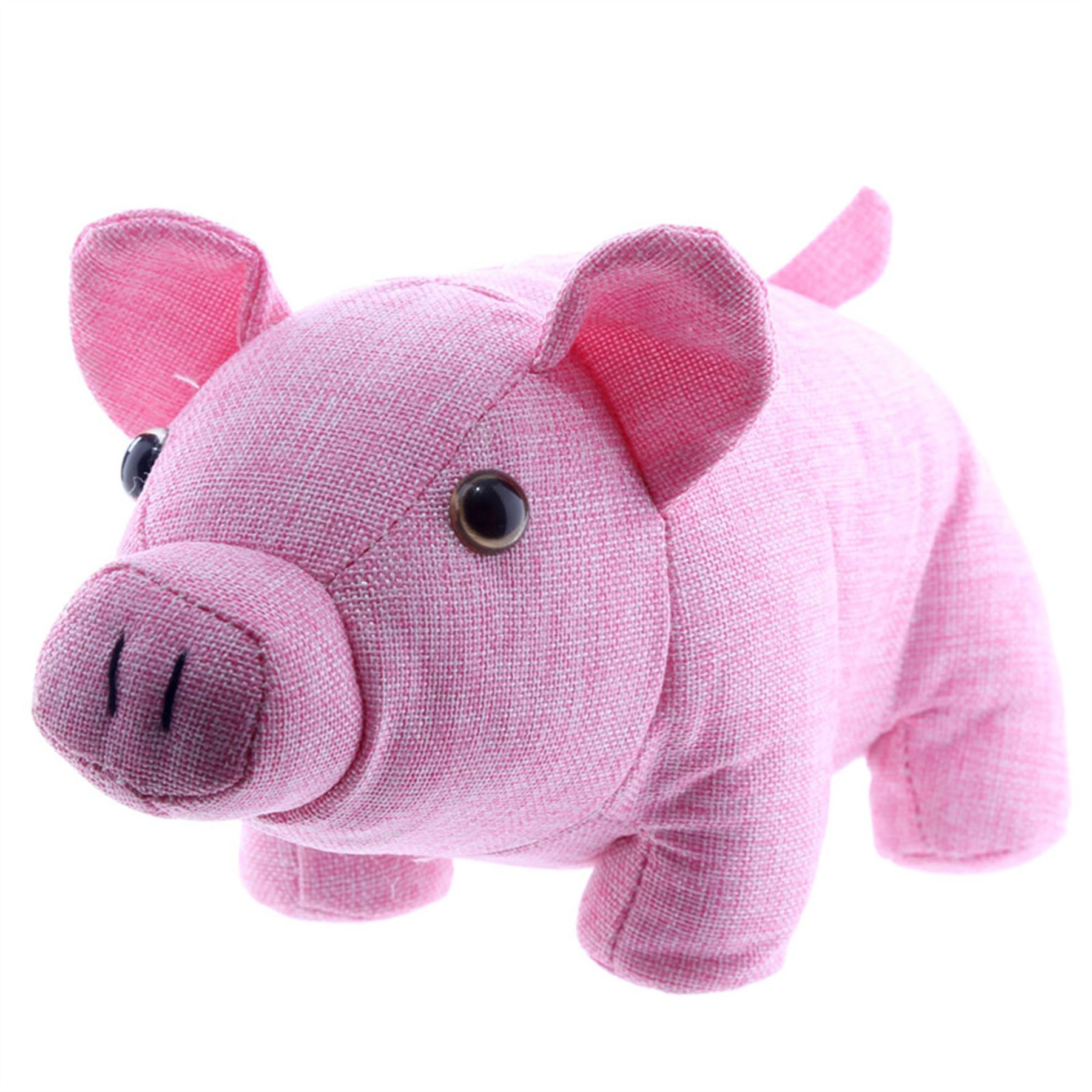 Fabric Door Stopper Pig Shaped Fabric Door Stop 14 5 Cm High Door Stopper Free