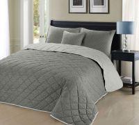 Luxury 3pc Christian Geometric Reversible Greyish Cotton ...