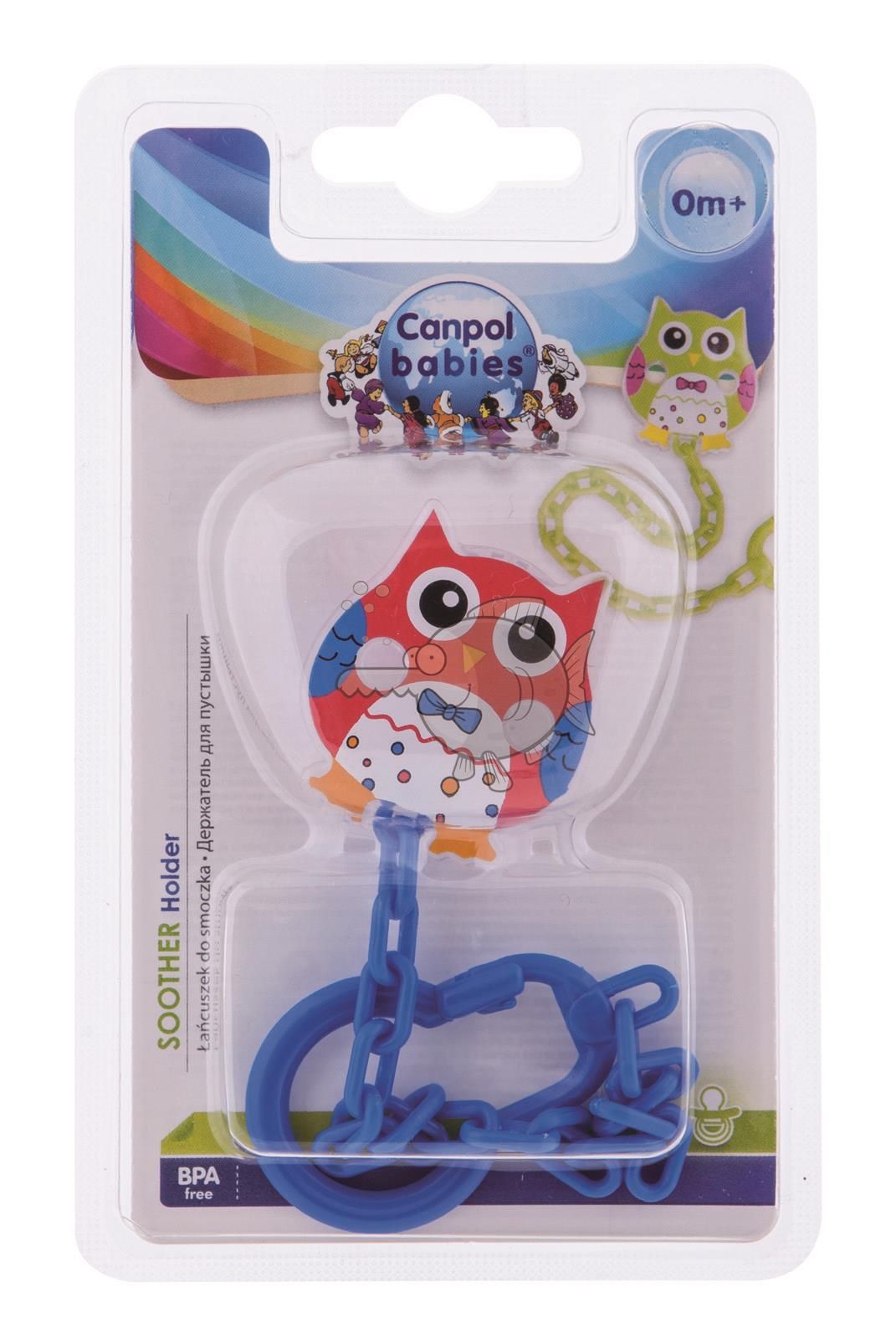 Baby Rosa Pipi Pacifier Soother Soother Dummy Clip Chain Holder Owl Strap