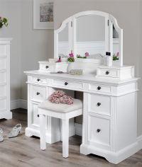 Gainsborough white dressing table set.Dressing table ...