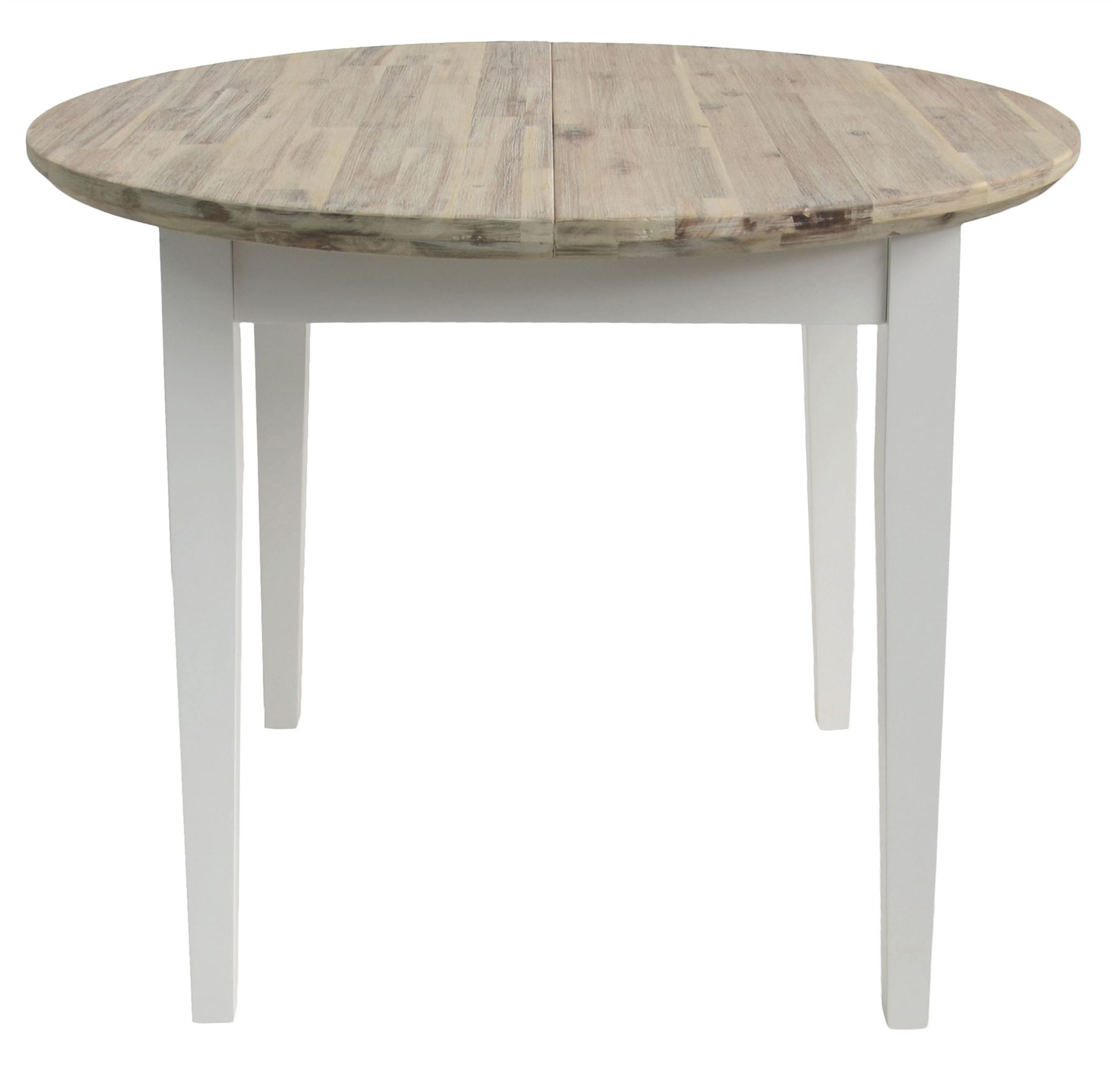 Diy Extendable Dining Table Florence Round Extending Table 92 117cm Kitchen Dining