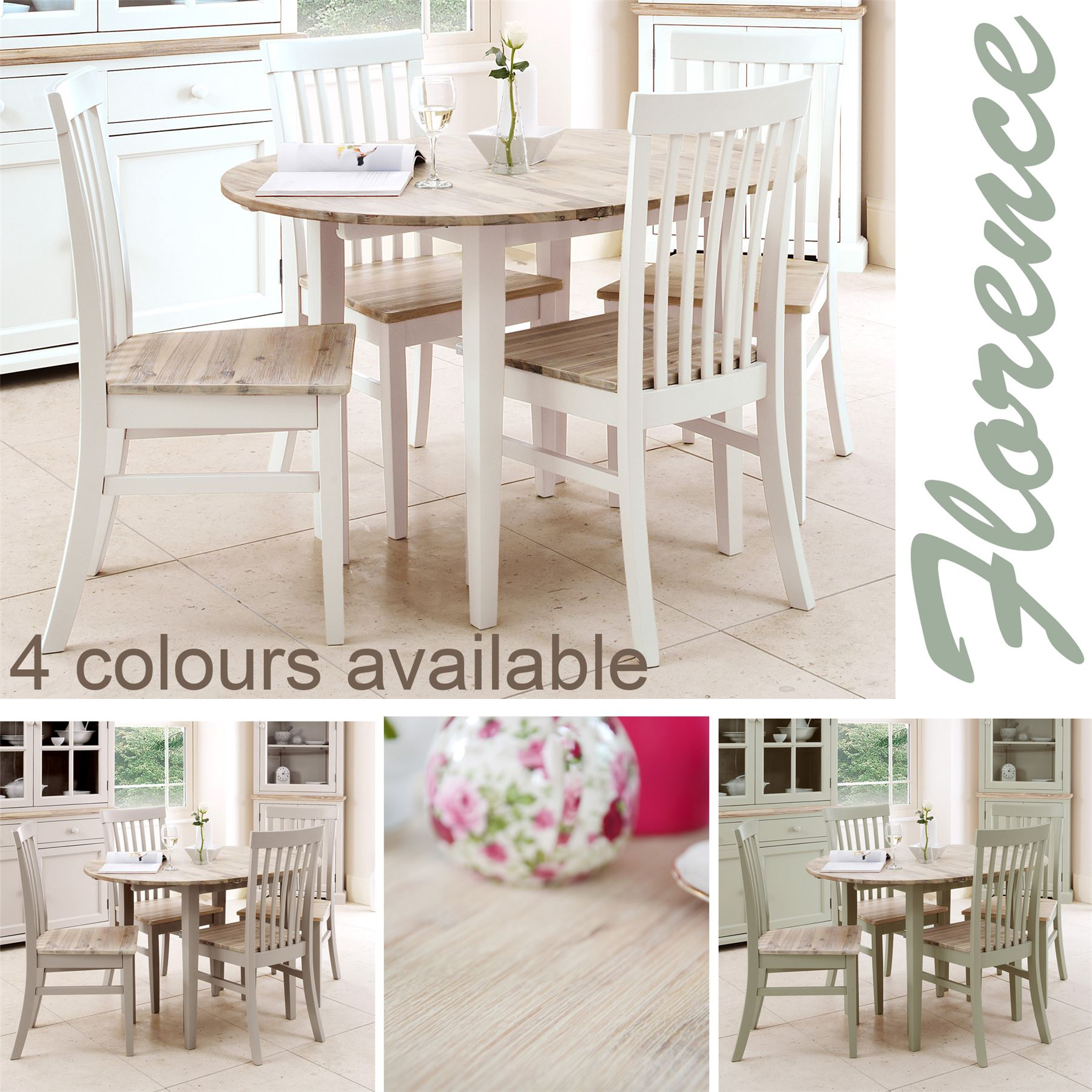 Florence Round Details About Florence Round Extending Table 92 117cm Kitchen Dining Table Brushed Acacia Top