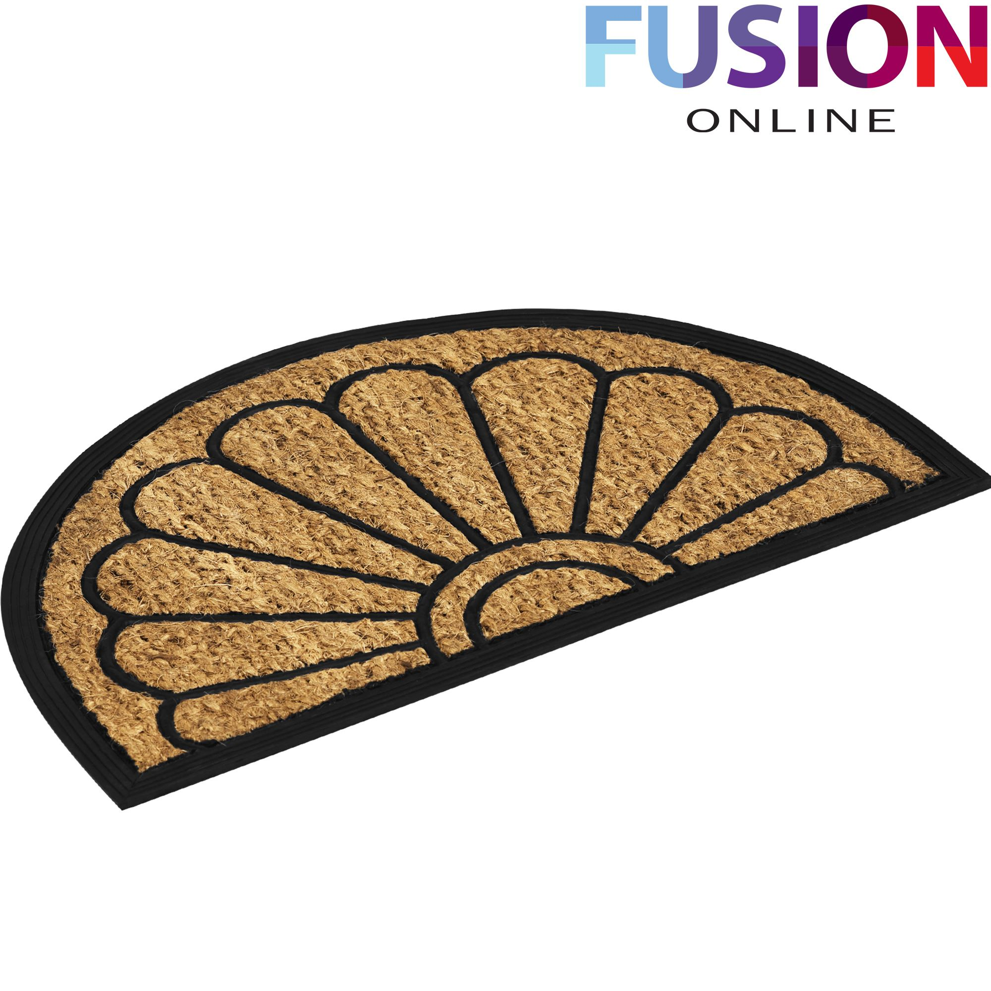 Paillasson Extérieur Caoutchouc Door Mat Outdoor Doormat Natural Coir Rubber Back Non Slip