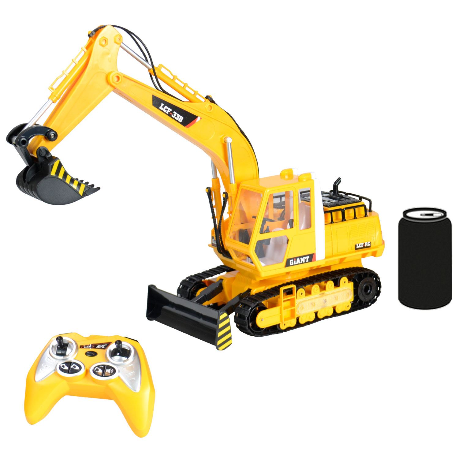 Digger Toy Details About Radio Remote Control Rc Jcb Toy Excavator Bulldozer Digger Truck Construction