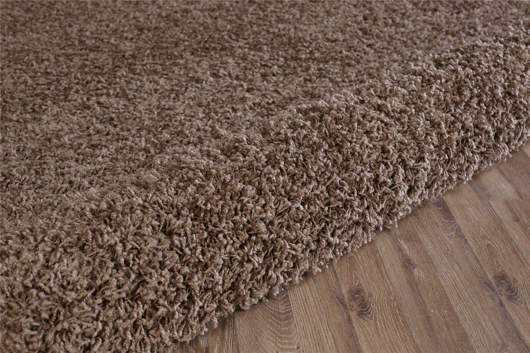 Tappeto shaggy marrone tappeto shaggy bordeaux moderno tutte le