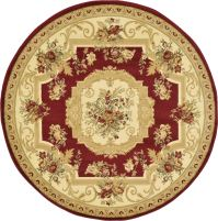 Oriental Large Area Rug Square Traditional Country Round ...