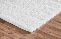 Shaggy Rug Pure White Soft Warm Carpet Modern Rugs ...