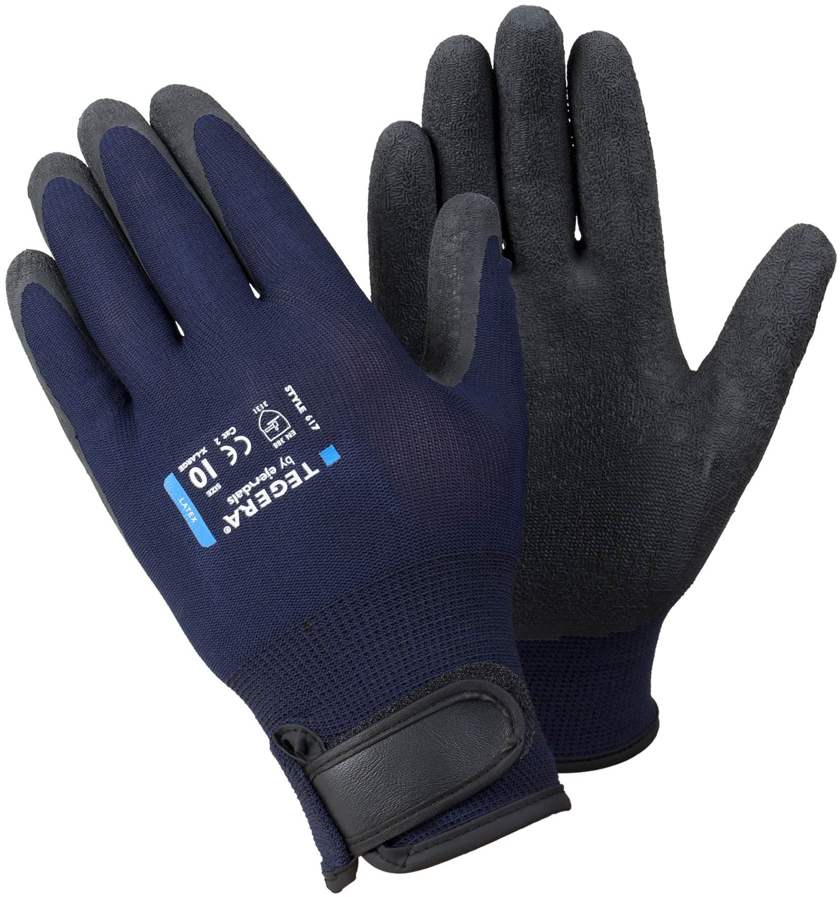 1 12 pairs latex coated grip waterproof palm builders gardening work gloves