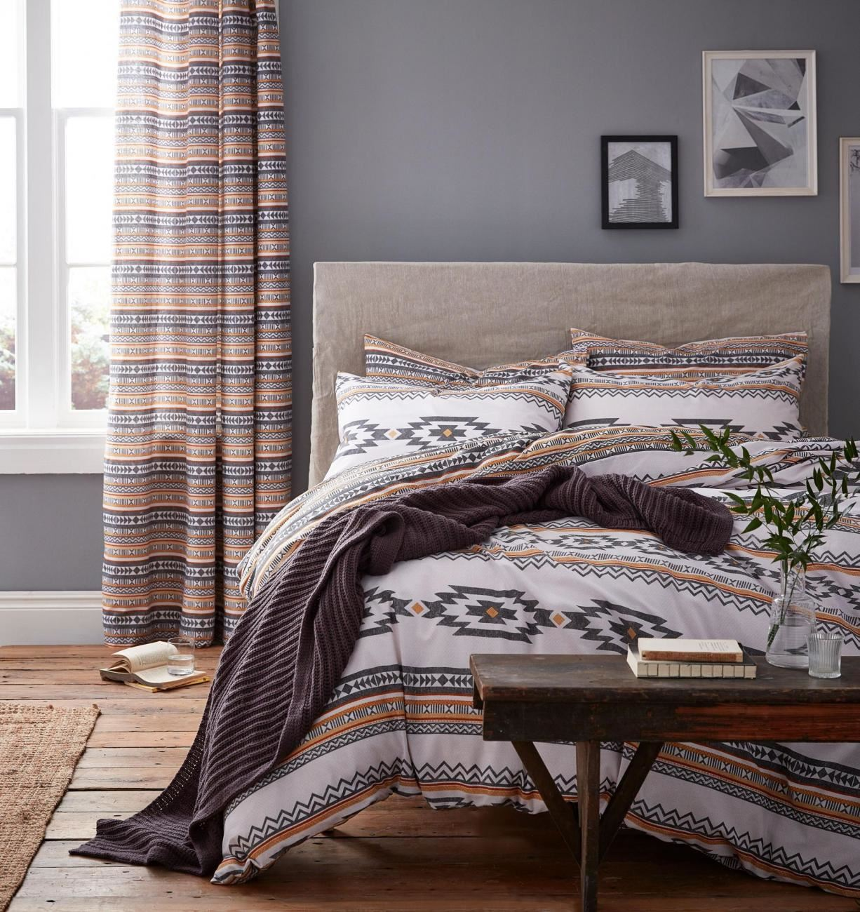 Scandi Style Bedding Catherine Lansfield Scandi Geo Duvet Cover Bed Set Or