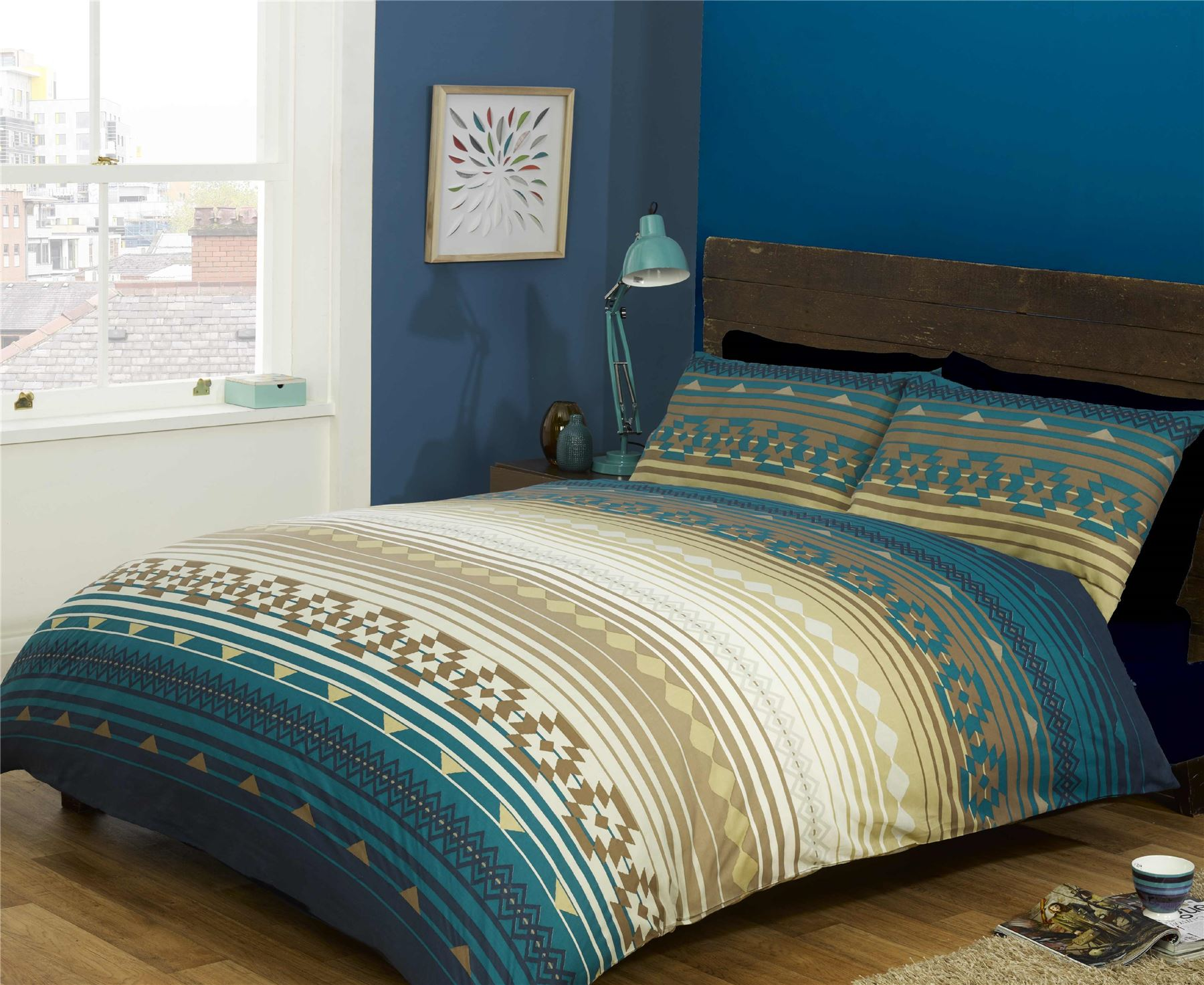 Indian Style Elephant Quilt Duvet Cover Pillowcase