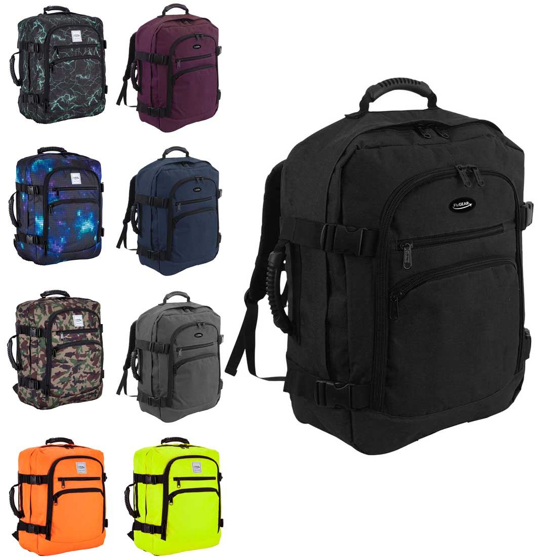 Lightweight Cabin Luggage Details About Flygear Cabin Hand Luggage Flight Backpack Rucksack Travel Holall Suitcase Bag