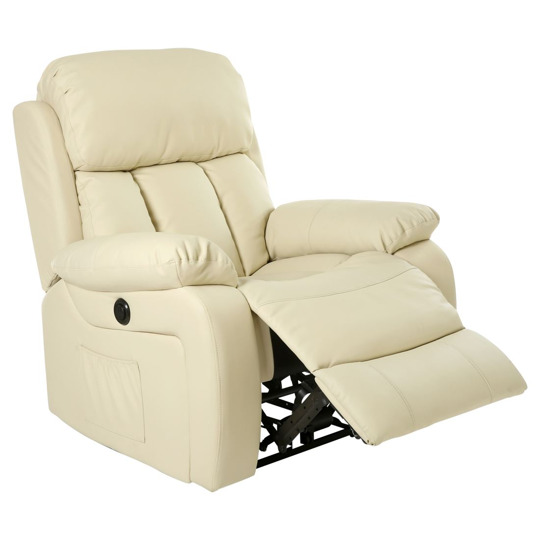 Electric Recliner Leather Chairs Chester Electric Heated Leather Massage Recliner Chair