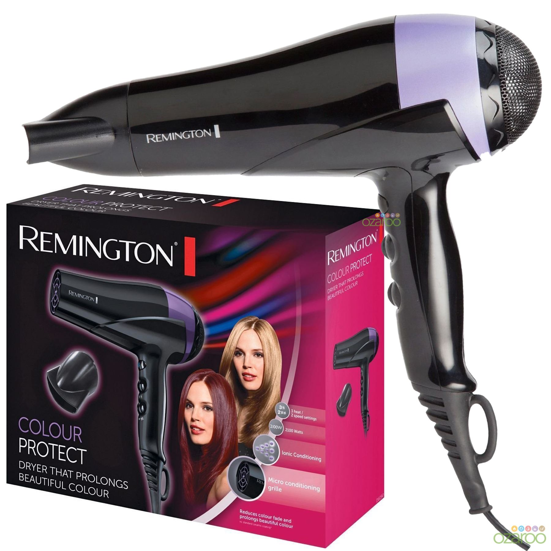 Remington d6090 colour protect hair dryer