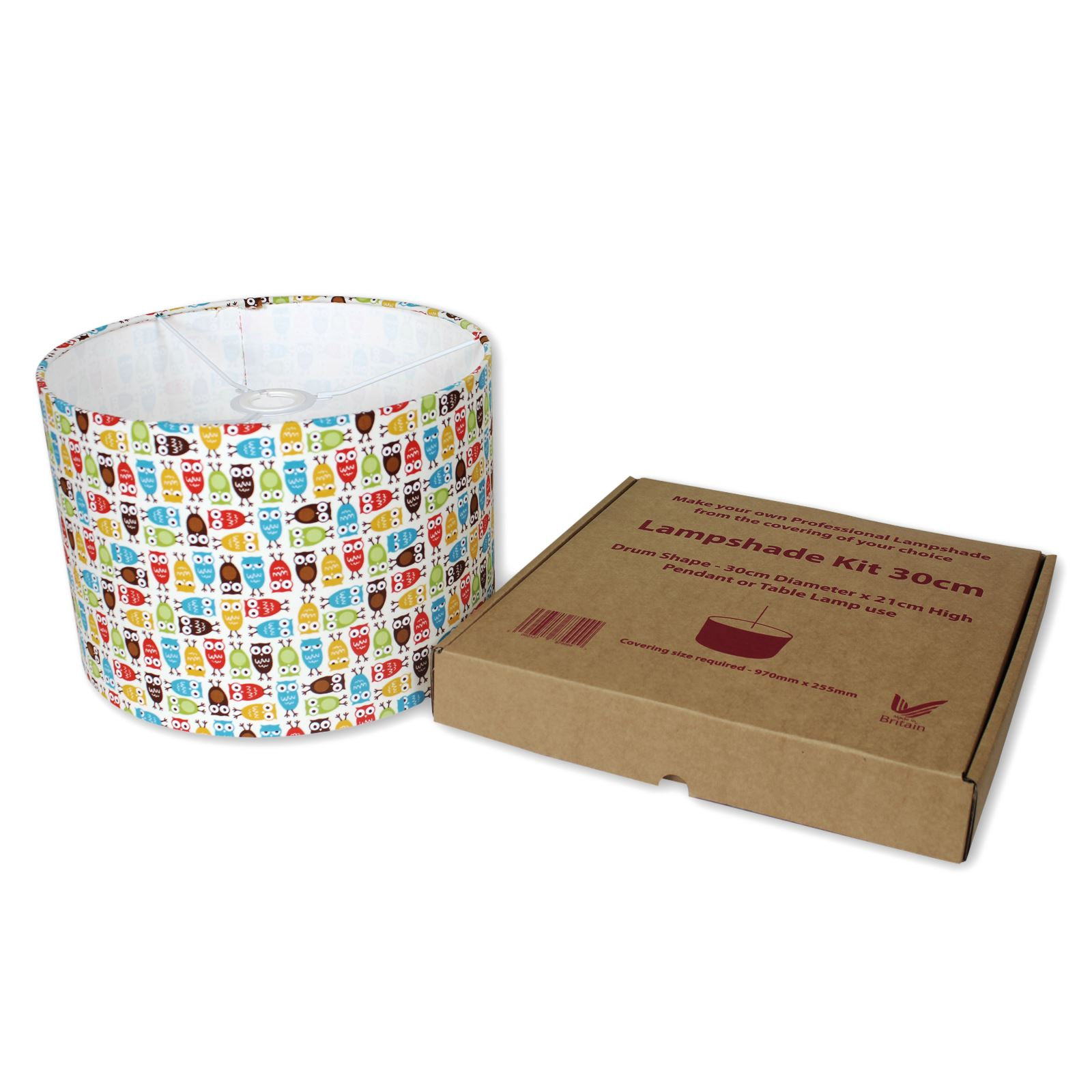 30cm Details About Lampshade Kits Make Your Own Lampshades 20cm 30cm 40cm Diameter Drum