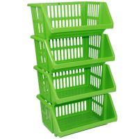 Multi Purpose Large Plastic Colour Storage Rack Stand ...