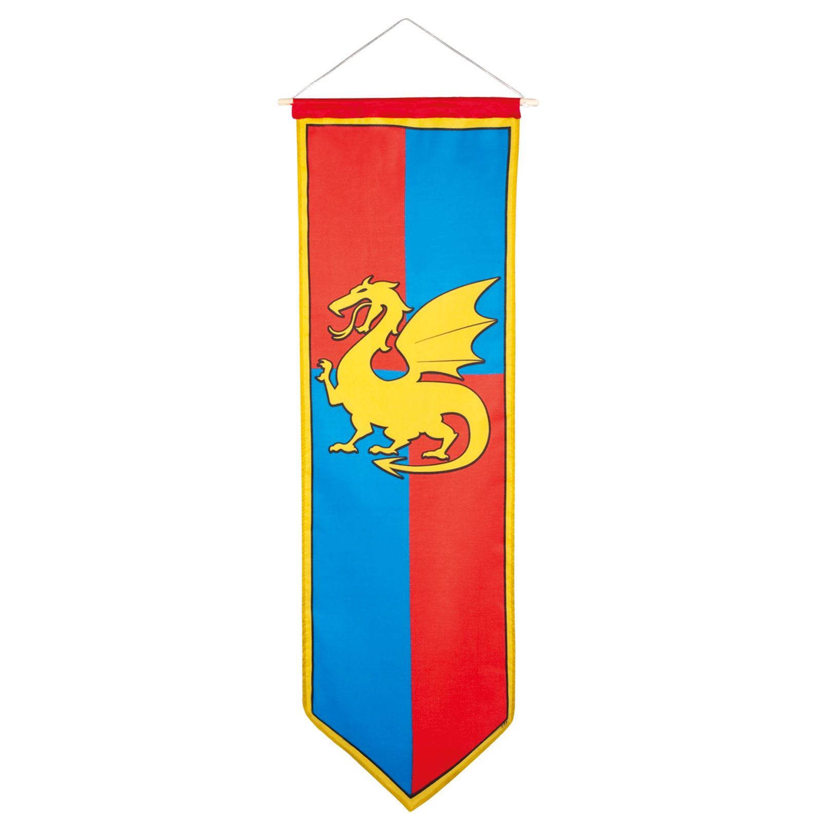 Store Banne Grande Taille Medieval Knights And Dragons Banner Medieval Dragon Party