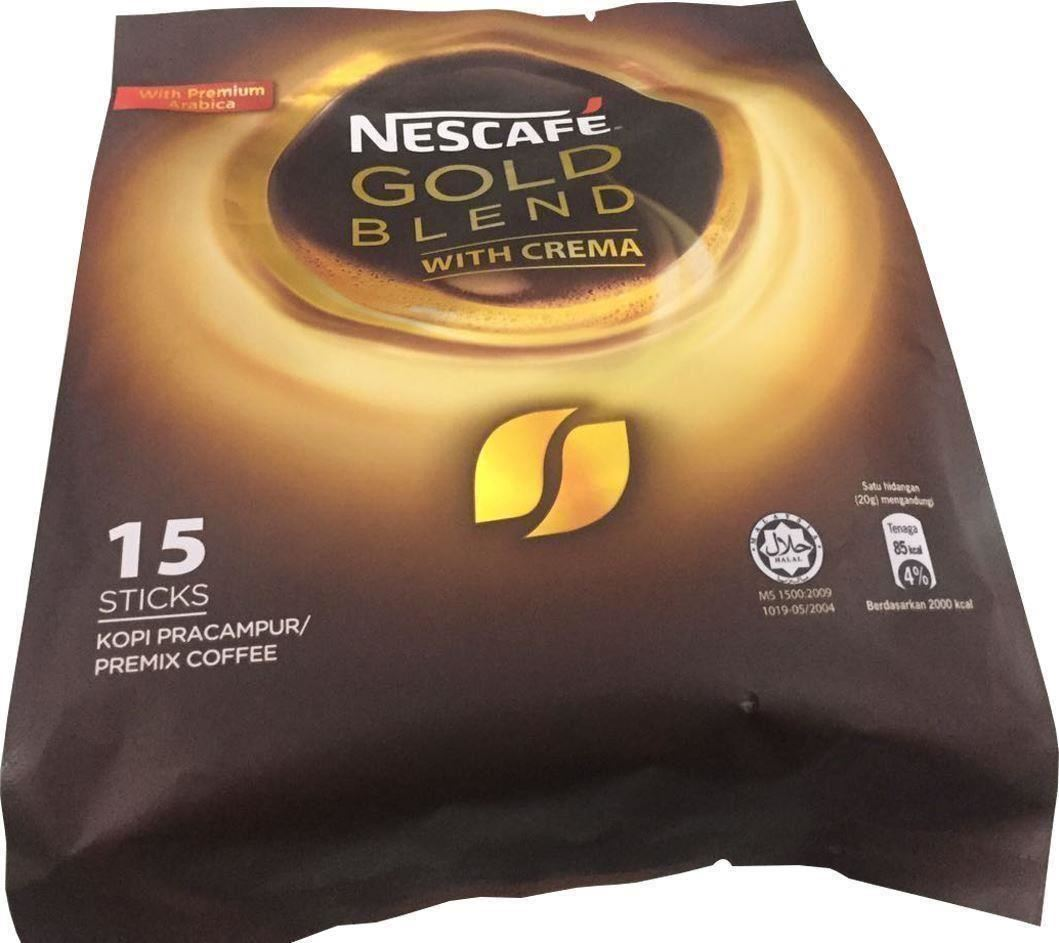 Nescafe Instant Arabica Coffee NescafÉ Gold Blend With Crema With Premium Arabica Ebay