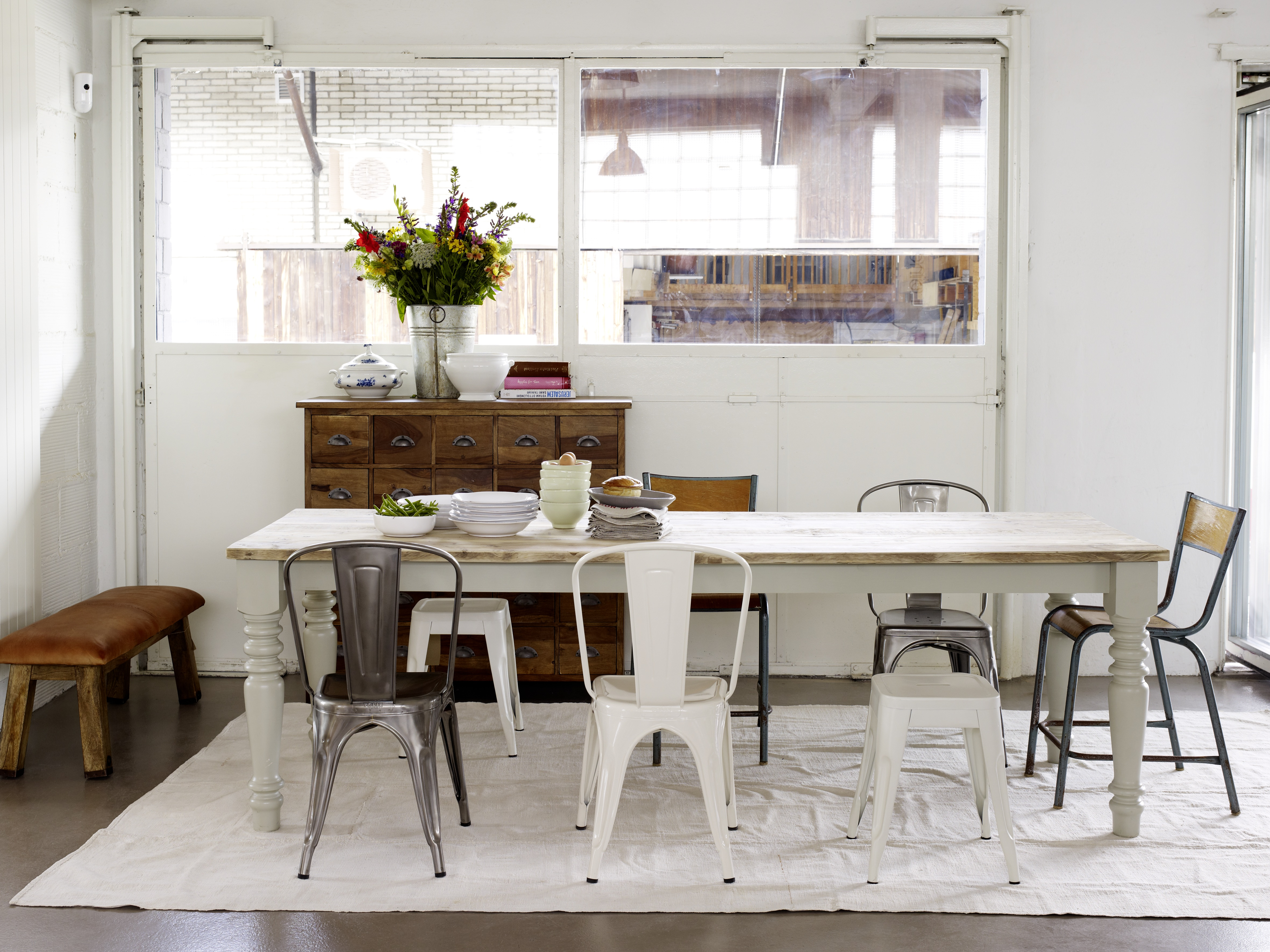 Industrial Wohnen Shabby Chic: A Decorating Trend With Contrasts | Wohnen