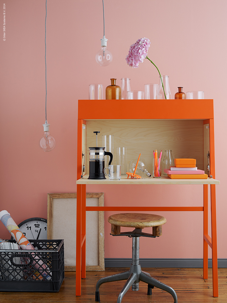 Ikea Fold Down Table Working Gets A Homelike Touch | Wohnen | Homegate.ch