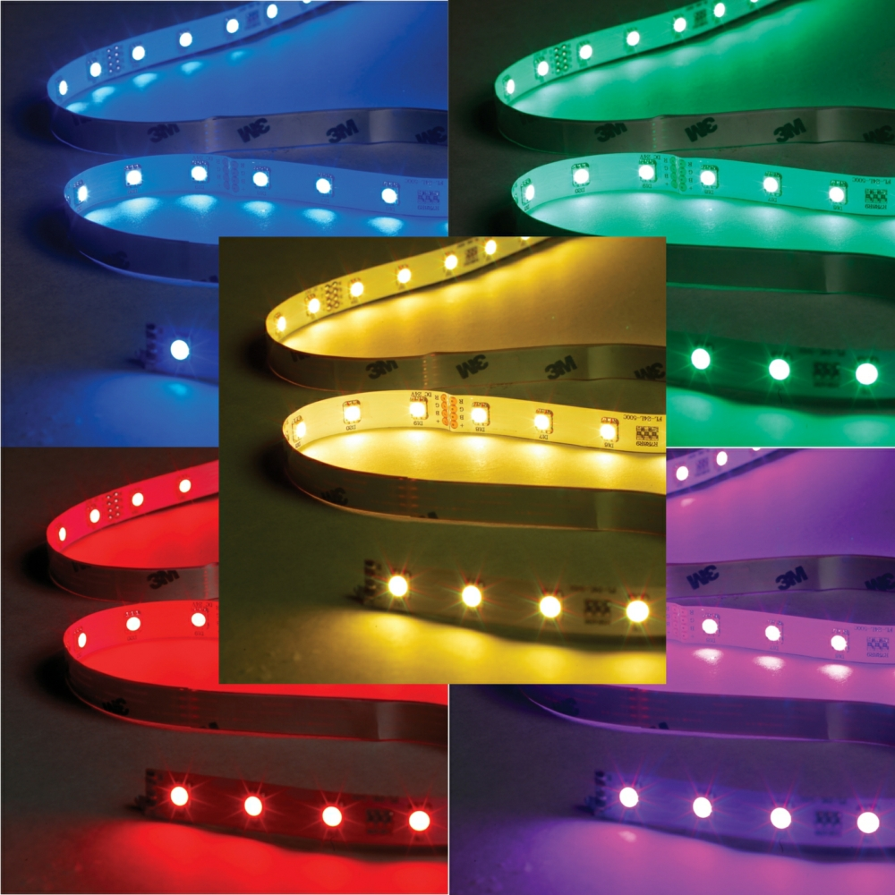 Led Strip 6m Rbg Standard Non Ip Colour Changing Led Tape