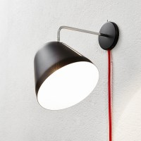 Tilt Wall lamp with cord and plug by Nyta | LOVEThESIGN