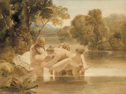 Domestic Animals Wallpaper Hylas Rescued From The River By The Nymphs 31 By