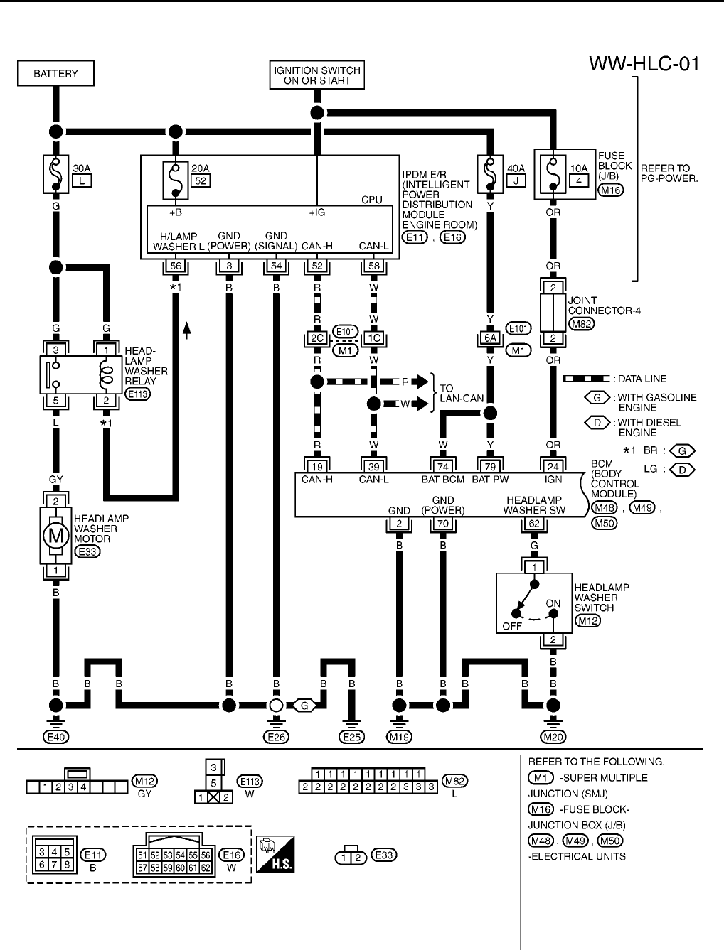 wiring diagram for 2003 nissan 350z