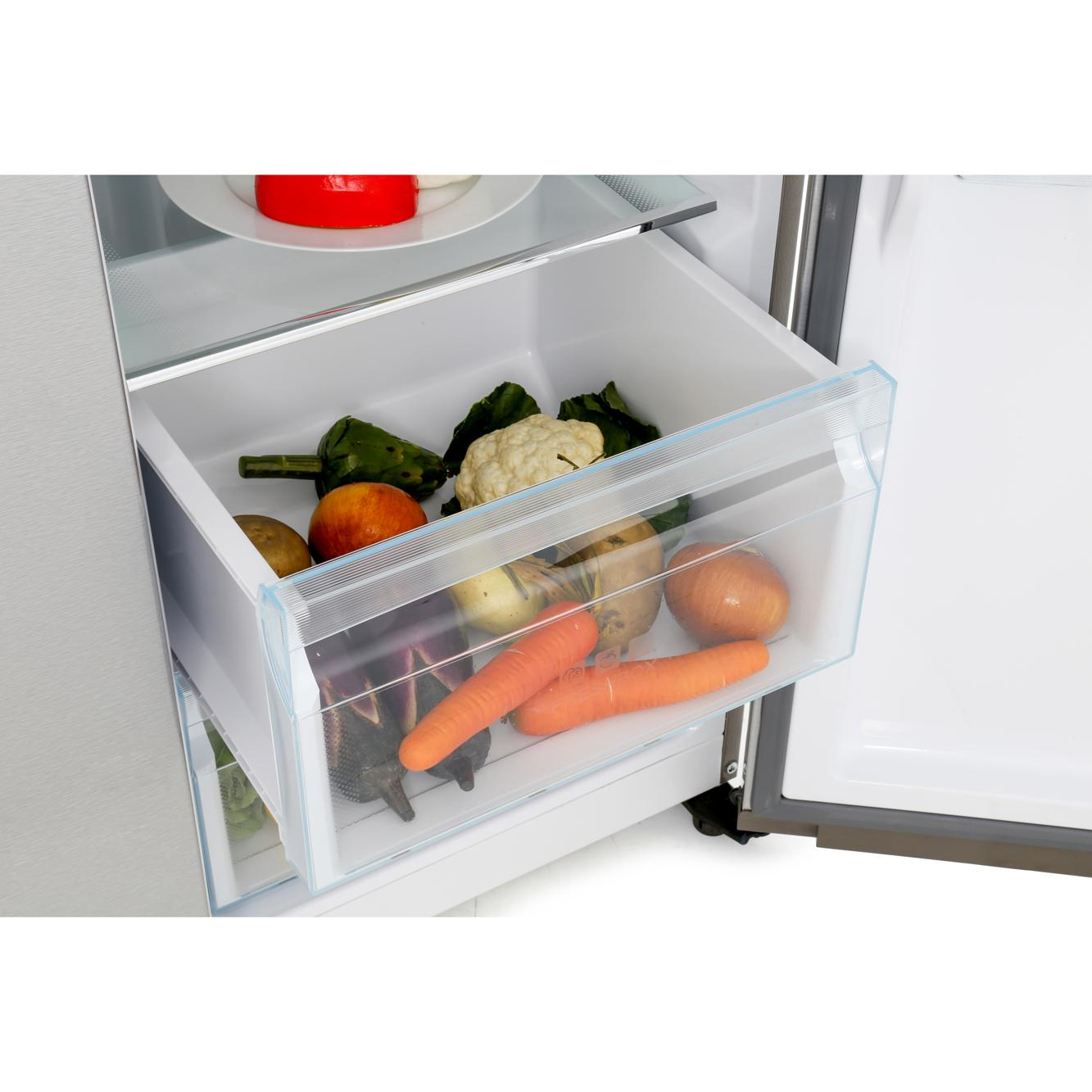 Haier Hrf-521ds6 Buy Haier Hrf 521ds6 American Fridge Freezer Silver