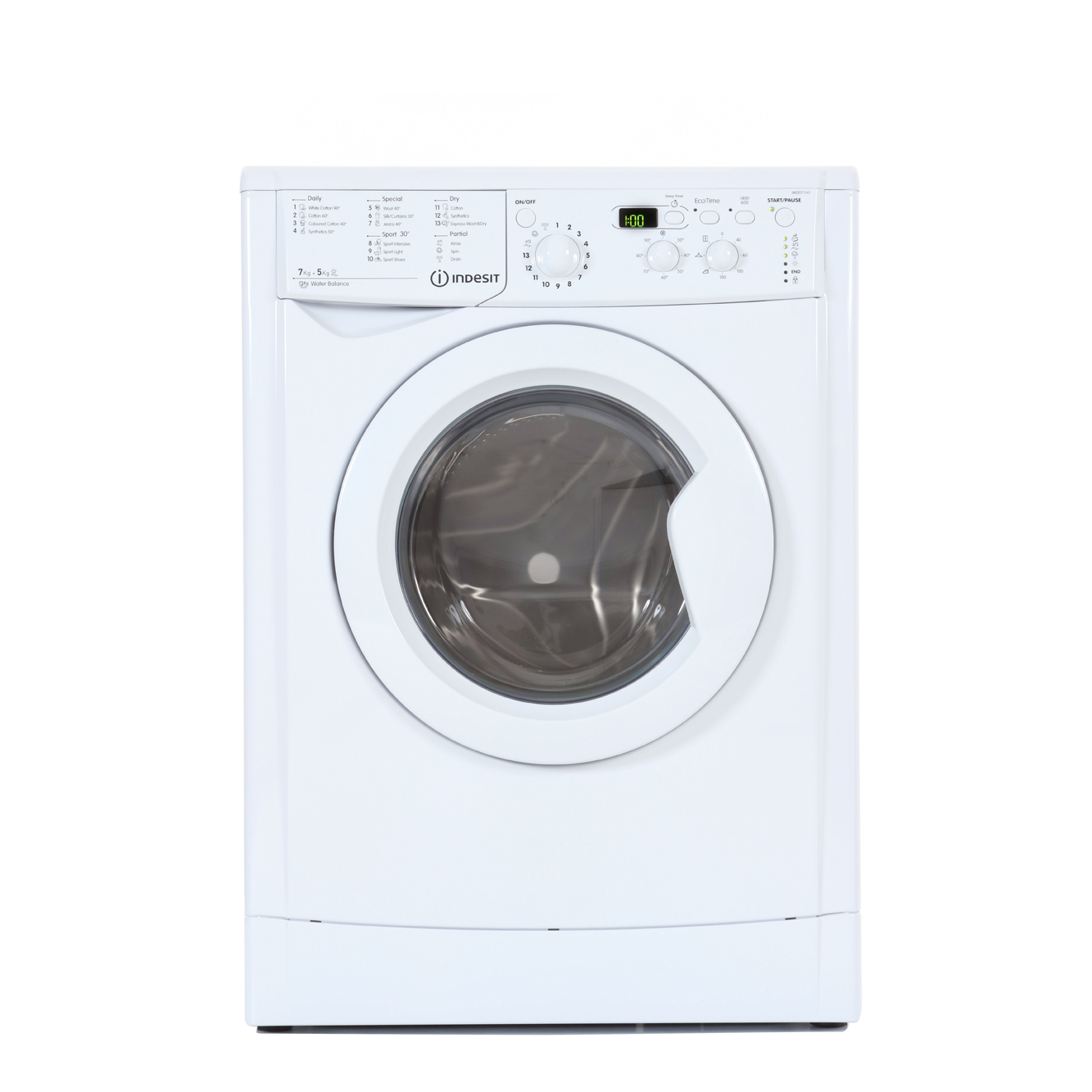 White Wash Kopen Buy Indesit Iwdd7143 Washer Dryer White Marks Electrical