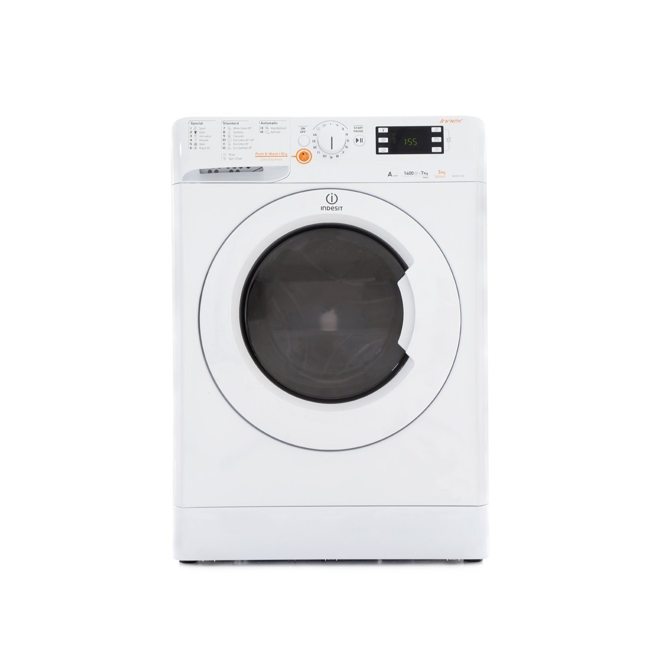 White Wash Kopen Buy Indesit Xwde751480xw Washer Dryer White Marks