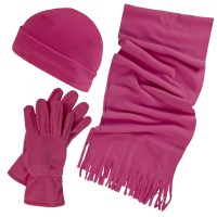 Trespass Womens/Ladies Quirk 3 Piece Winter Scarf Hat And