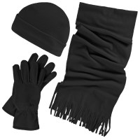 Trespass Womens/Ladies Quirk 3 Piece Winter Scarf Hat And ...