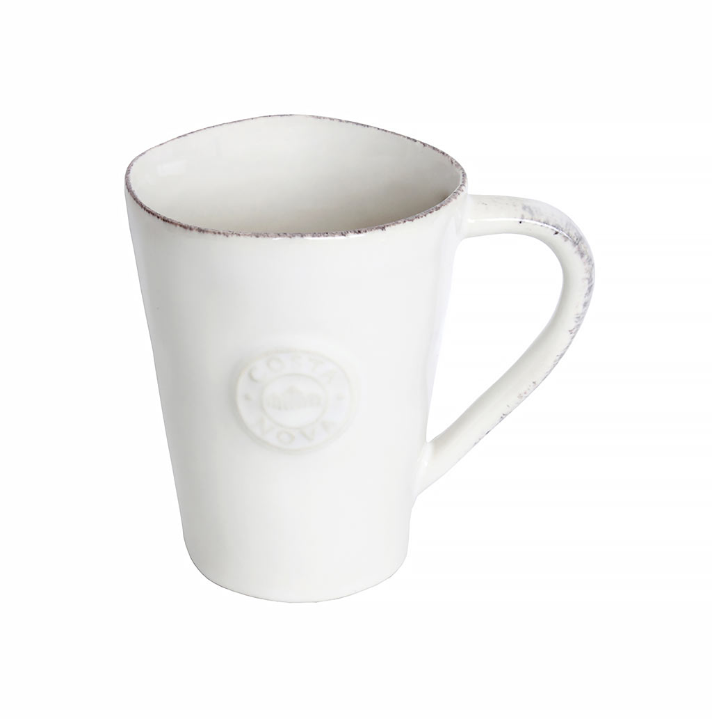Mug En Grès Costa Nova Mug En Grès Fin Nova Blanc 35cl Muller Kitchen And