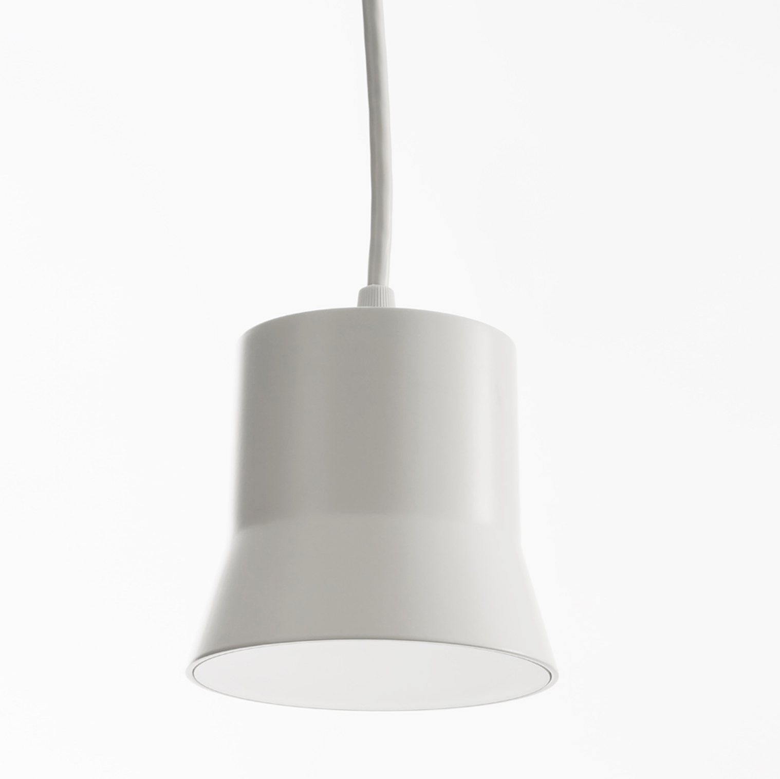 Artemide Suspension Pendant Light Gio White Led 3000k 430lm Ø10 7cm H9 8cm Artemide