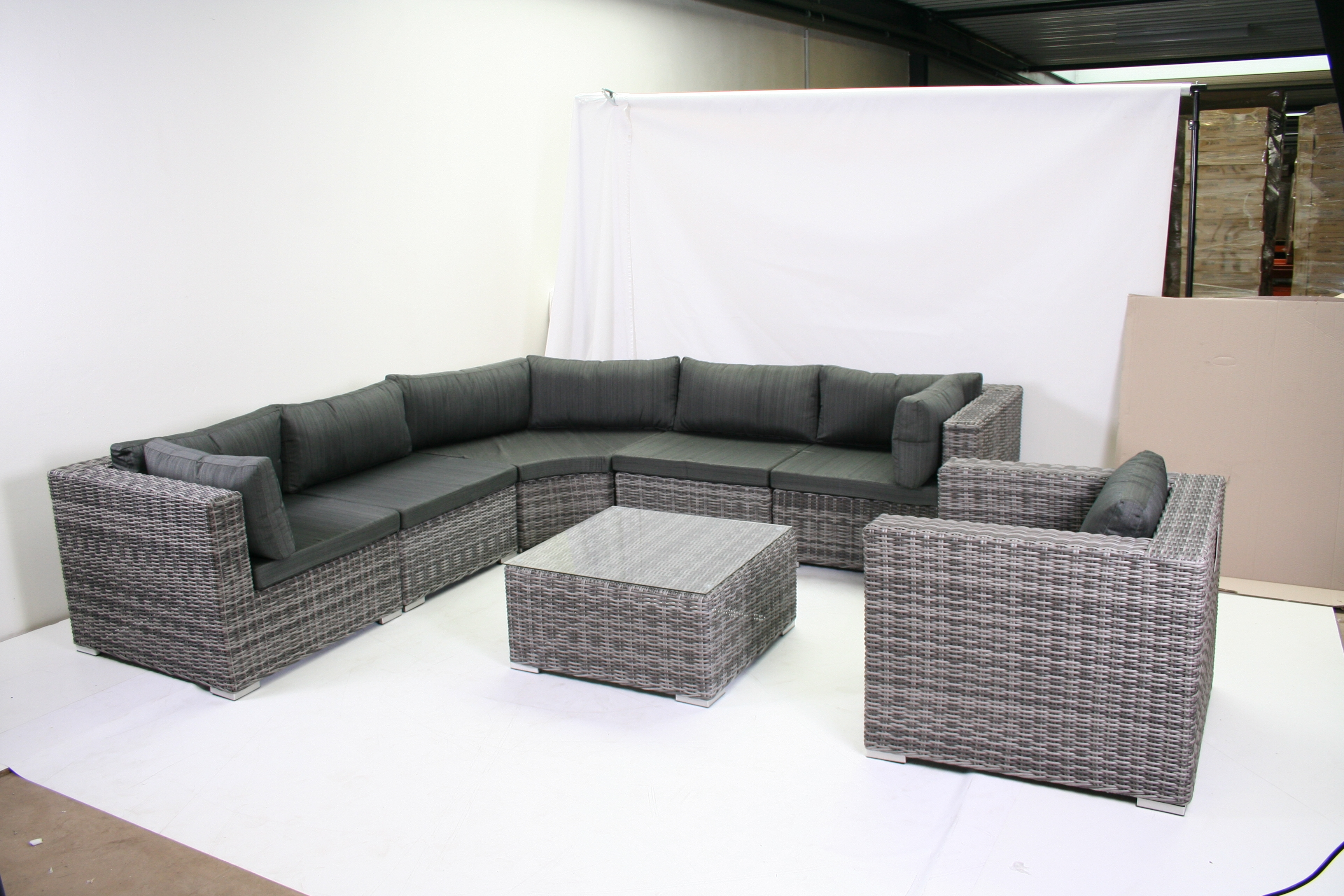 Loungeset Madrid Tuin Decoratie Tot 100 Euro Loungesets