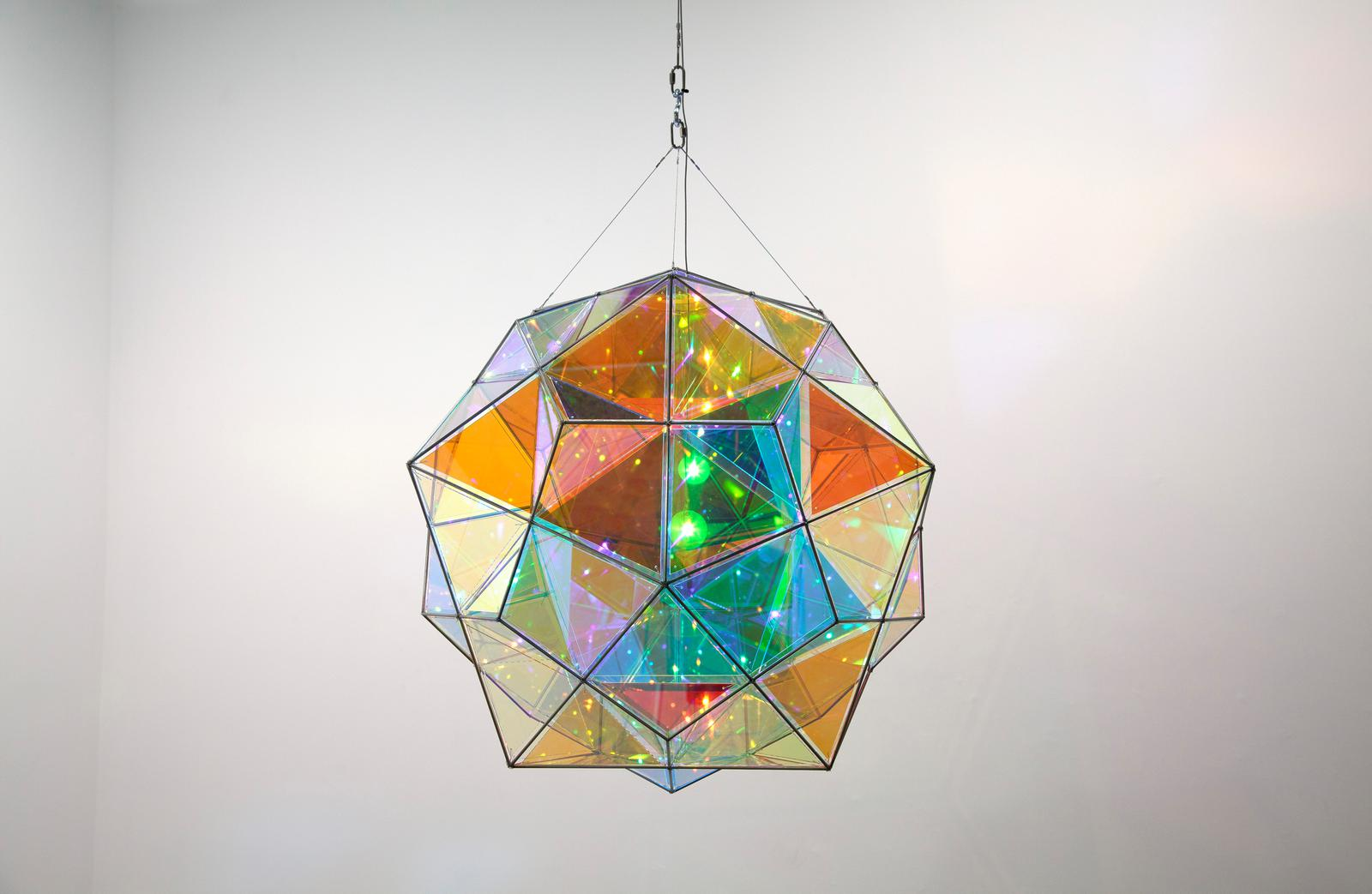 Chandelier Lamp Infinite Colour Doubl... • Artwork • Studio Olafur Eliasson