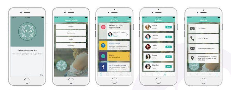 Salon Appointment Booking App Phorest Salon Software