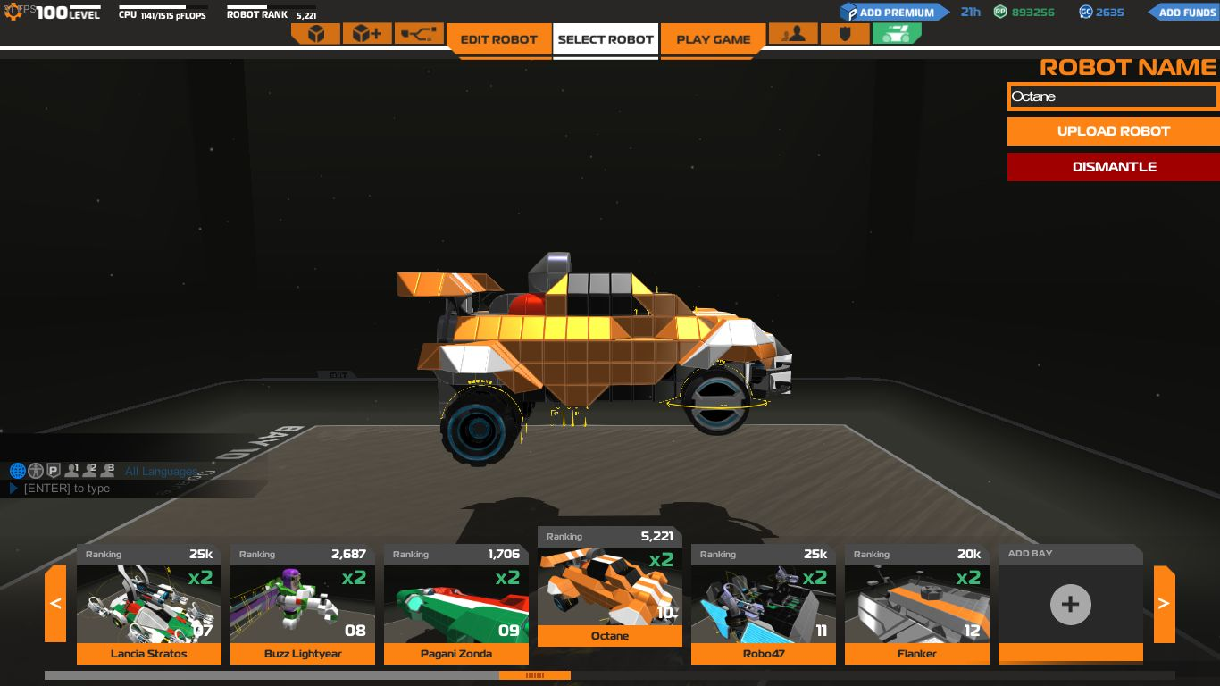 Rocketleague Garage Rocket League Front Flipping Octane Robocraft Garage