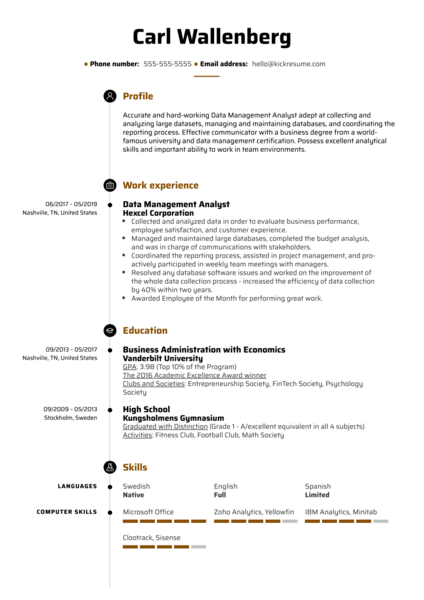 senior product manager resume summary great examples