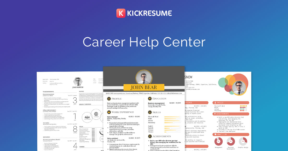 Create a Resume from LinkedIn +Examples Kickresume