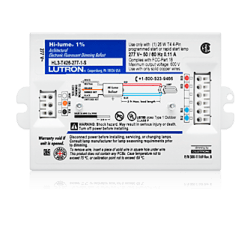 Advance Dimming Ballast Wiring Diagram Hi Lume A Series Led Driver By Lutron