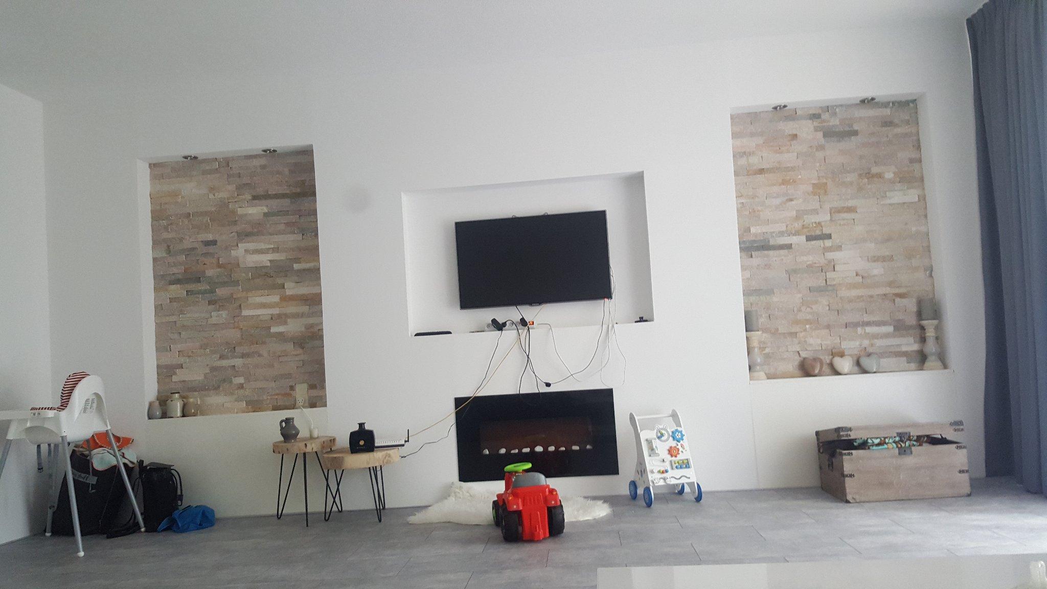Tv In Muur : Tv muur us off beibehang aangepaste behang d stereo balkon