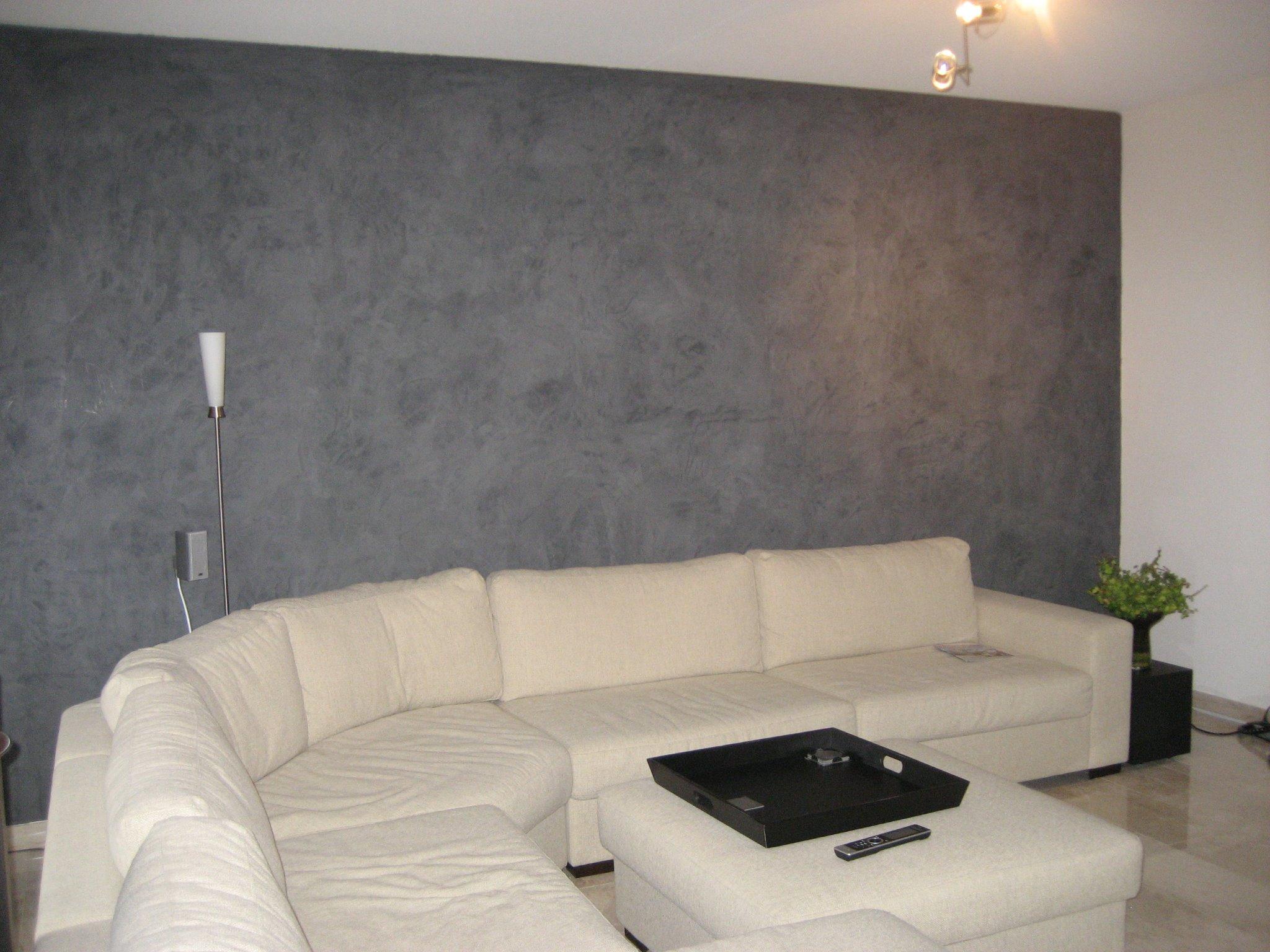 Betonlook muur stucen: een betonlook muur maak je zo vindy. badkamer