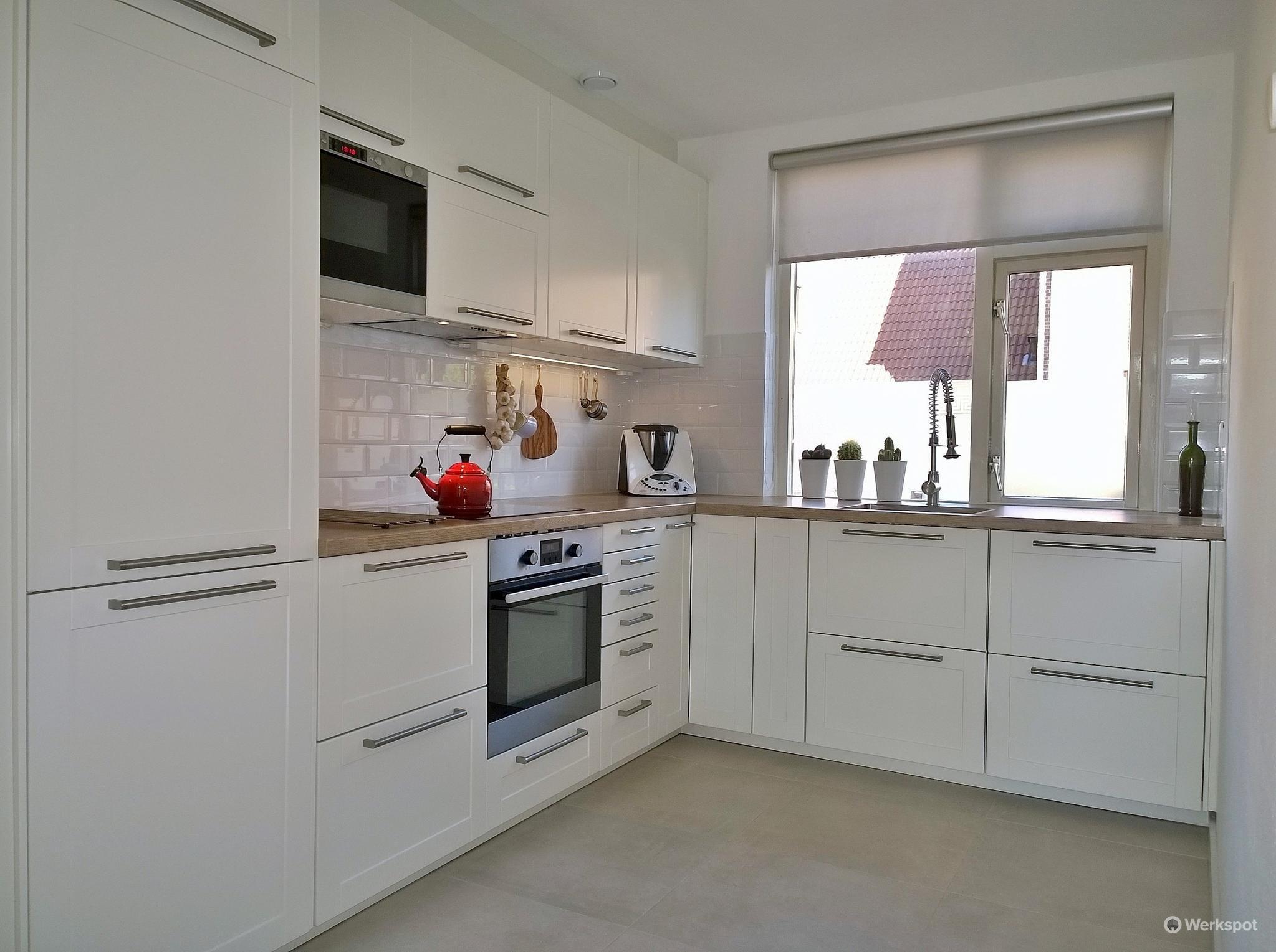 Ikea Ekestad Keuken : Keuken renoveren ikea houten keukenfronten maatwerk lades en